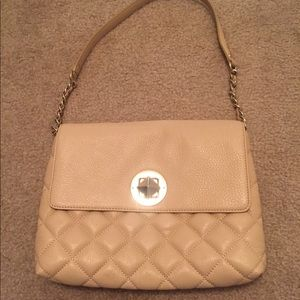 Kate Spade Nude Quilted Bag